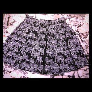 Aeropostale Black and White Skirt- NWOT